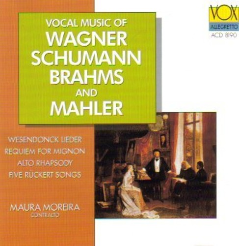 Vocal Music of Wagner Schuman