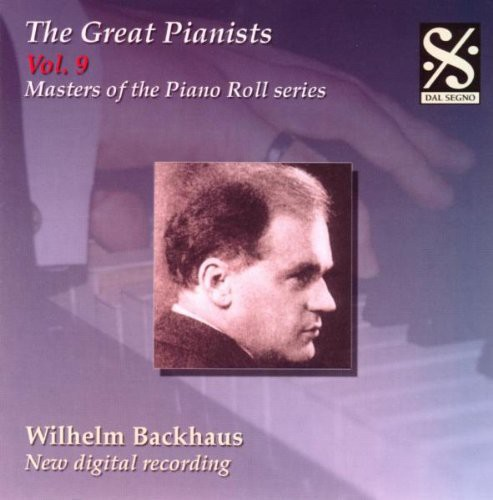 Great Pianists 9: Masters of the Piano Roll