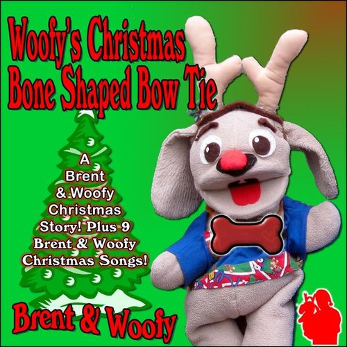 Woofy's Christmas Bone Shaped Bow Tie