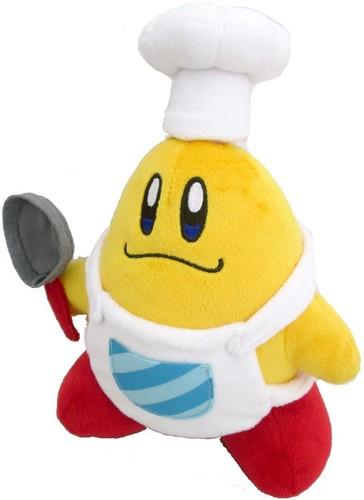 """- Little Buddy Kirby Adventure Chef Kawasaki 8"""" Plush"""