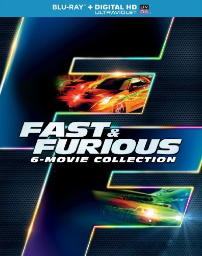 The Fast & The Furious [Movie] - Fast and Furious 6-Movie Collection