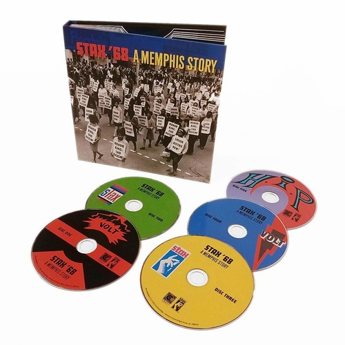 Various Artists - Stax '68: A Memphis Story [5CD Box Set]