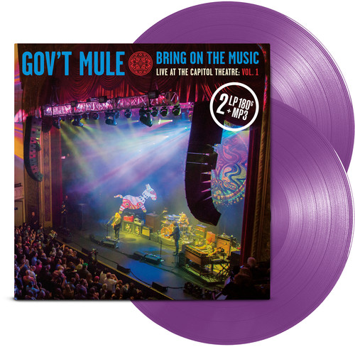 Gov't Mule - Bring On The Music - Live at The Capitol Theatre: Vol. 1 [2LP]