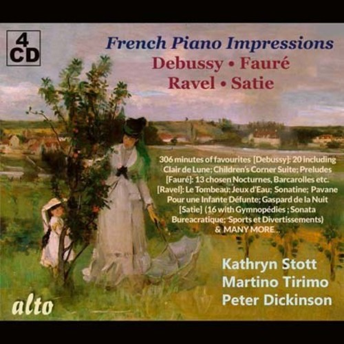 French Piano Impressions /  Debussy - Faure - Ravel - Satie
