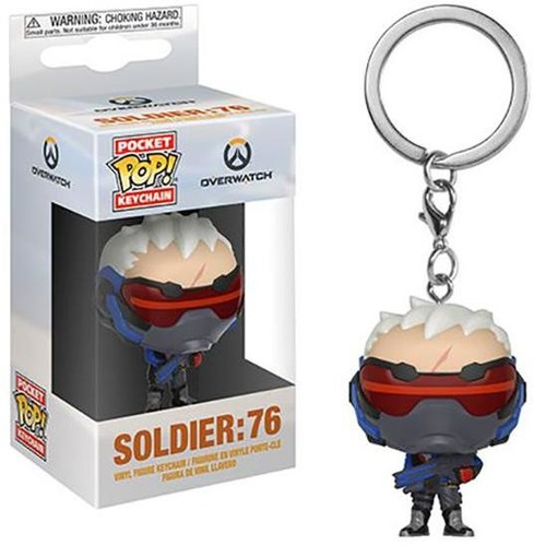 - FUNKO POP! KEYCHAIN: Overwatch - Soldier: 76