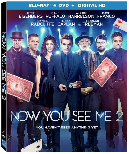 Now You See Me 2 [Blu-ray/DVD]