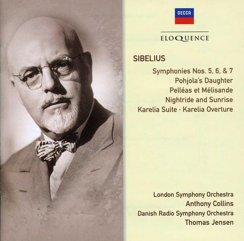 Eloq: Sibelius - Symphonies Nos 5-7