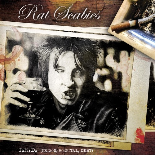 Rat Scabies - P.H.D. (Prison Hospital Debt) [Limited Edition LP]