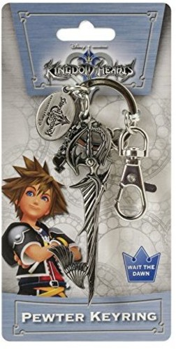 Kingdom Hearts Riku Sword Pewter Key Ring - Kingdom Hearts Riku Sword Pewter Key Ring
