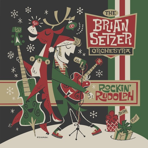 Brian Setzer - Rockin Rudolph