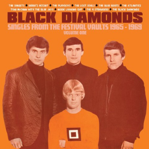 Black Diamonds: Singles from 1965-1969 1 /  Various