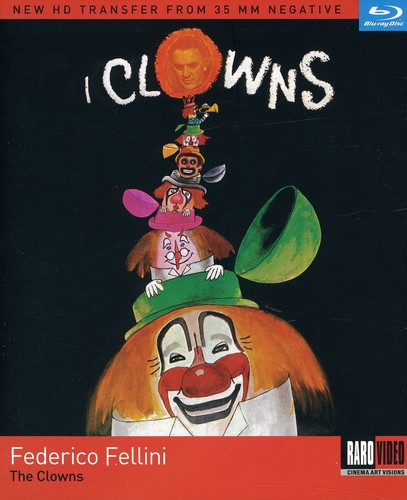 Fellini/Ekberg - Clowns (I Clowns) / (Full Sub)