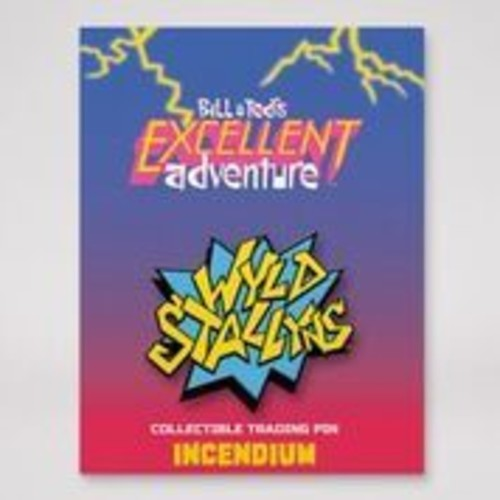 Bill & Ted's Excellent Adventure [Movie] - Bill & Ted: Wyld Stallyns Lapel Pin