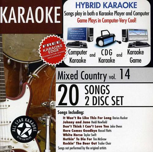 Karaoke: Mixed Country, Vol. 14