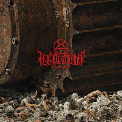 Thy Art Is Murder - Human Target [Brown/Black Swirl Gatefold LP]