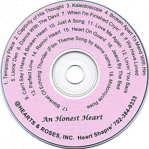 Heart Shapre' : Honest Heart