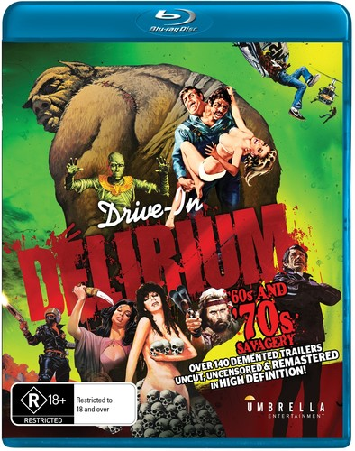Drive In Delirium: Hi Def Hysteria - 60s & 70s Savagery [Import]