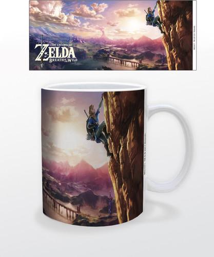 Zelda Botw the Climb 11 Oz Mug - Zelda BotW The Climb 11 oz mug