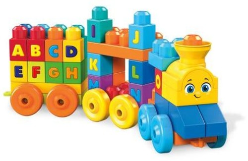 MEGA BUILD BASICS ABC LEARNING TRAIN