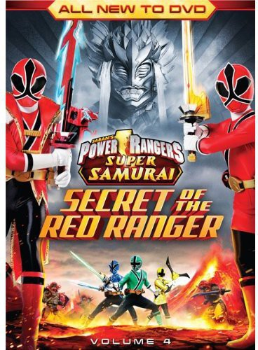 Power Rangers Super Samurai: The Secret of the Red Ranger: Volume 4