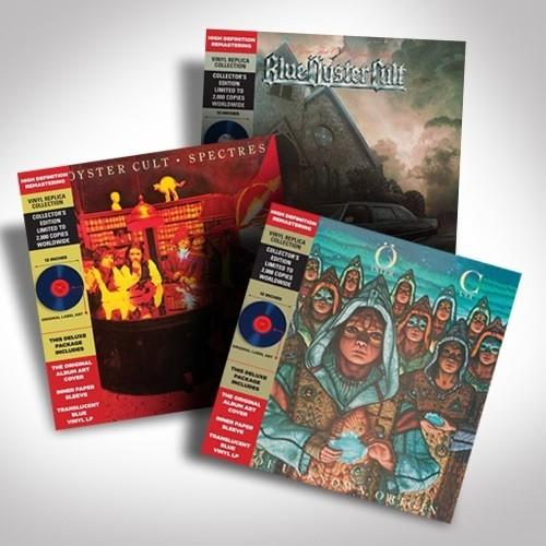 Blue Oyster Cult Translucent Blue Vinyl Bundle