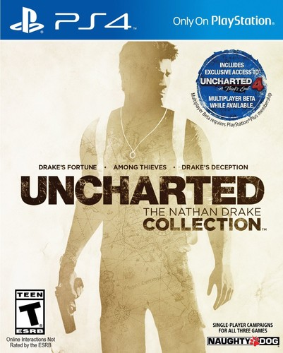 - Uncharted: Collection for PlayStation 4