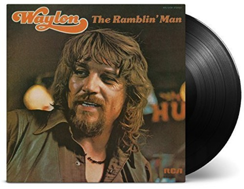 Waylon Jennings - The Ramblin' Man [Import Limited Edition LP]