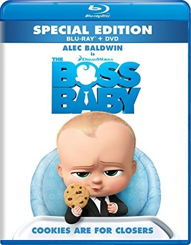 Boss Baby [Blu-ray/DVD]
