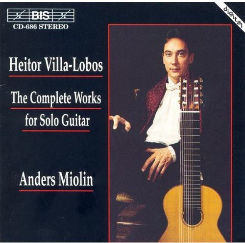 Anders Miolin - Complete Works For Solo Guitar