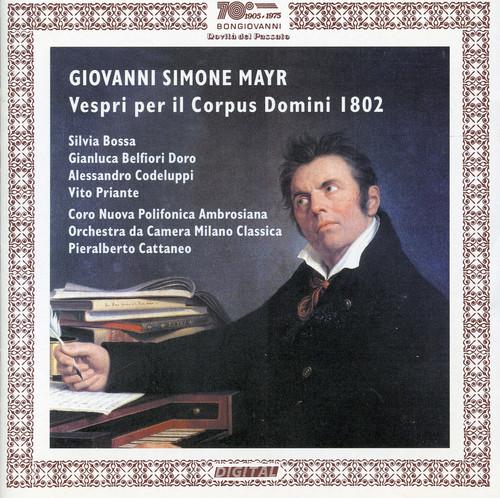 Vespri Per Il Corpus Domini 1802