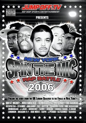 Spin Mic: New York Rap Battle 2006 Disc 2