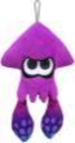 "- Little Buddy Splatoon Inkling Squid 9"" Plush - Purple"