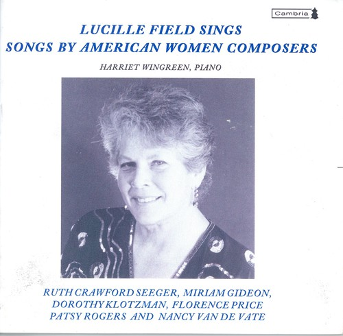 Songs By American Women Composers /  Various
