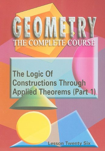 The Logic of Constructions Through Applied Theorems