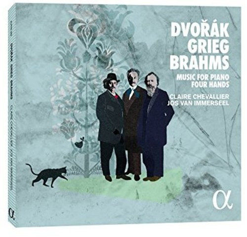 Dvorak Grieg & Brahms: Music for Piano Four Hands