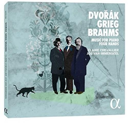Dvorak Grieg & Brahms: Music for Piano Four Hands
