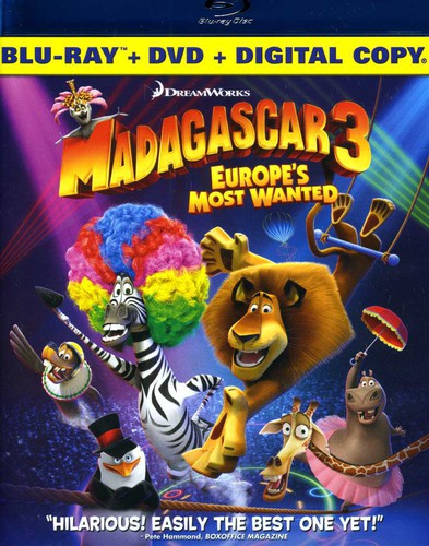 Madagascar 3: Europe's
