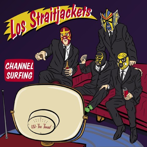 Los Straitjackets - Channel Surfing EP