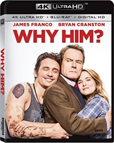 Why Him? [4K Ultra HD Blu-ray/Blu-ray]