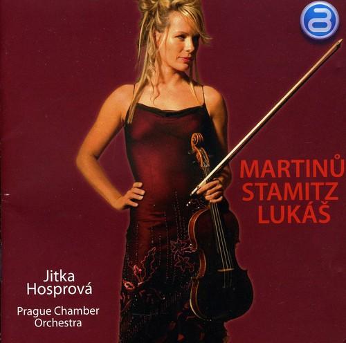Jitka Hosprova Plays Martinu Stamitz & Lukas