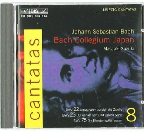 Complete Cantatas Viii: #22, 23, 75