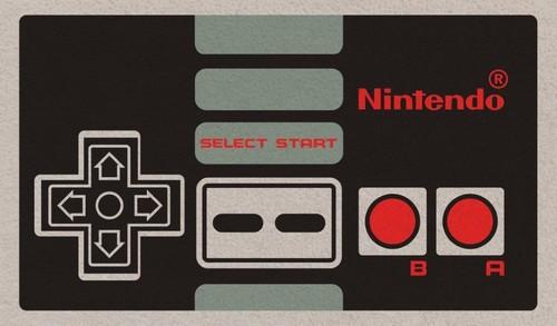 Nintendo Controller Doormat - Nintendo Controller Doormat