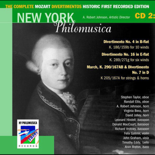The Complete Mozart Divertimentos Historic First Recorded Edition Cd 2