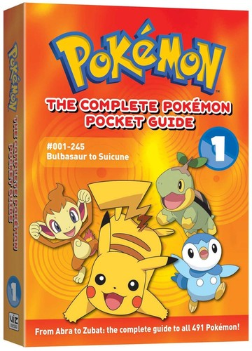 - The Complete Pokemon Pocket Guide, Vol. 1