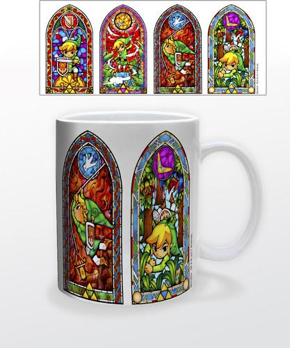 Zelda Stained Glass 11 Oz Mug - Zelda Stained Glass 11 oz mug
