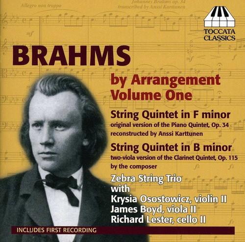 Zebra Trio - Brahms By Arrangement 1 / String Quintets