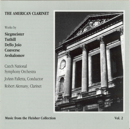 American Clarinet Orchestral Music