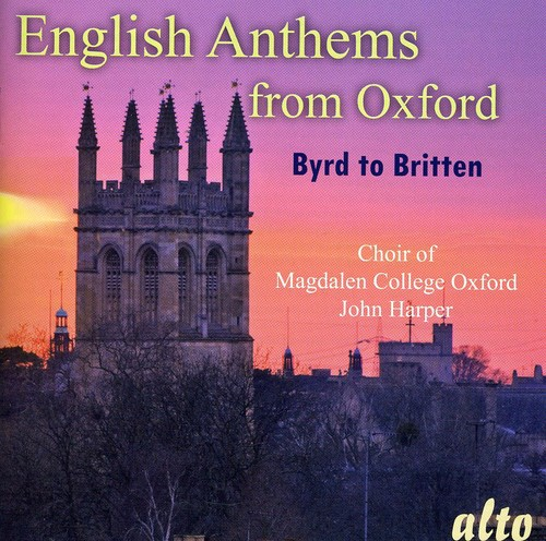 English Anthems from Oxford