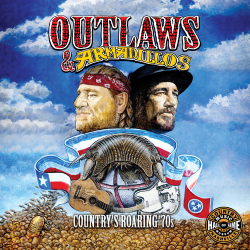 Various Artists - Outlaws & Armadillos: The Roarin' 70's (Various Artists)