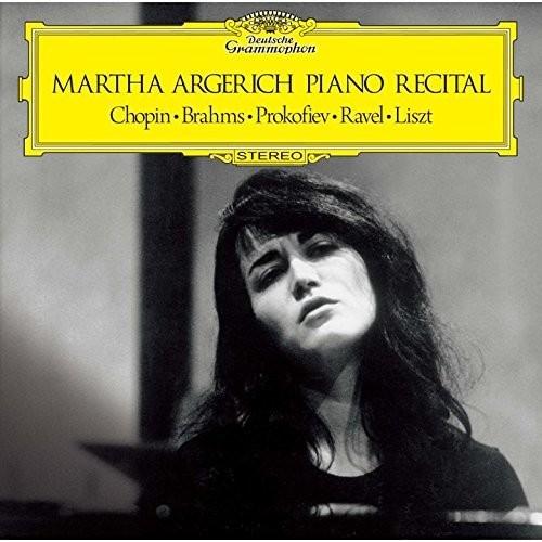 Martha Argerich - Debut Recital Chopin / Brahms / Liszt